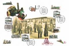 Collage - Eisenbahnen