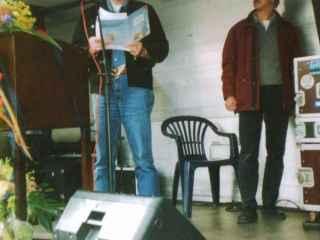 25 Jahre EKZ Wilhelmsburg - Meine Lesung (September 2002)