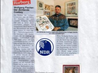 WIR (Mietermagazin SAGA) [März 1999] – Wolfgang Fischer – der dichtende Cowboy