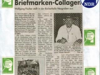Süderelbe Wochenblatt [Sept. 1998] – Außergewöhnliche Briefmarken-Collagen